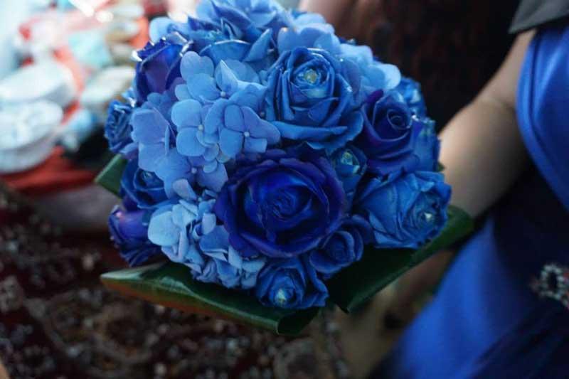 Buchet Albastru Florialtfel
