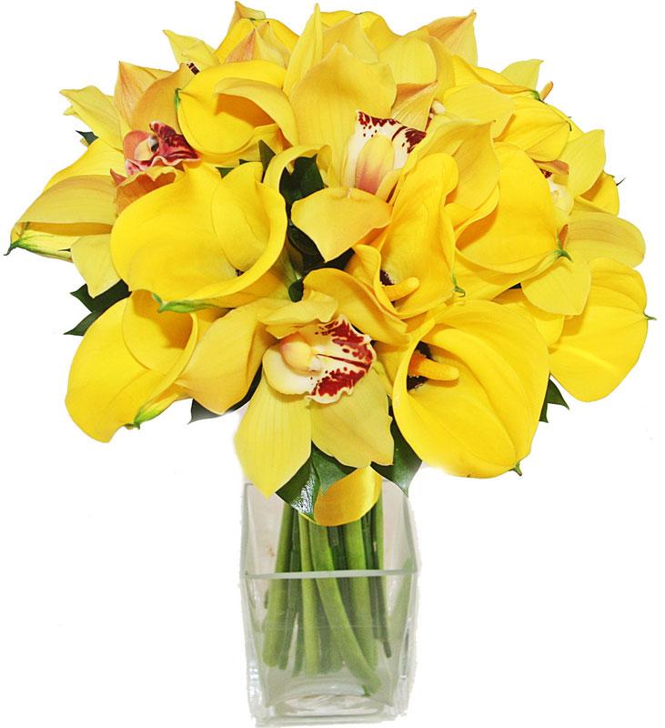 Buchet De Oferit Cale Si Orhidee Florialtfel
